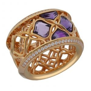 Chopard 829564 5010 Imperiale 18k Rose Gold 750 Diamonds Womens Ring Size 65 114622503628
