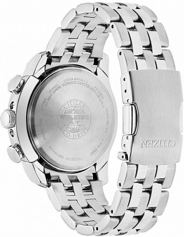Citizen Eco Drive AT9010 52E World Time A T Radio Controlled Solar Mens Watch 133570386178 2