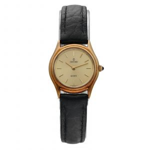 Concord 20 61 257 Royal Mariner 14k Yellow Gold 22mm Leather Quartz Womens Watch 114572669248