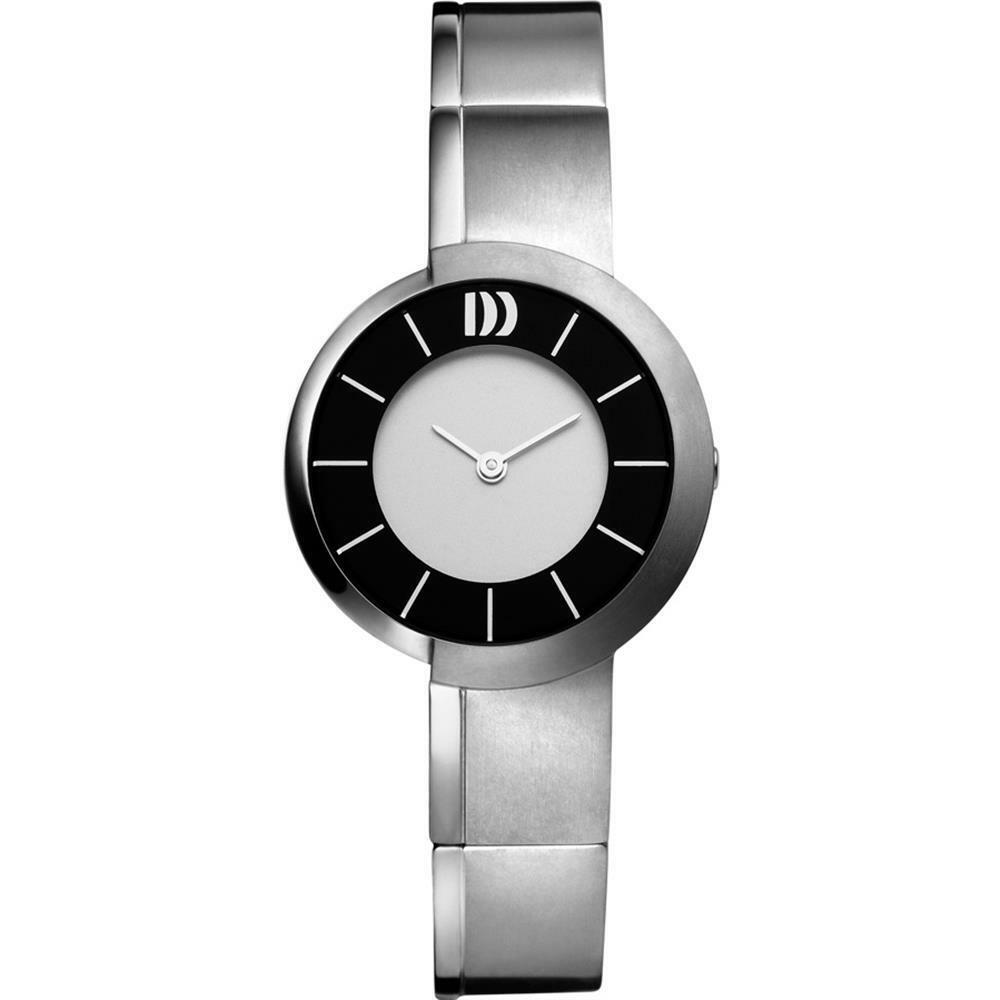 Danish Design IV62Q934 SilverBlack Dial Titanium Classic Quartz Womens Watch 122237232648