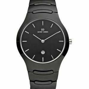 Danish Design IV63Q945 Black Dial Ceramic Quartz Classic Sapphire Womens Watch 132011649978