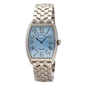 Franck-Muller-7502-QZ-Cintree-Curvex-18k-White-Gold-Blue-Dial-Quartz-Wrist-Watch-124681845548