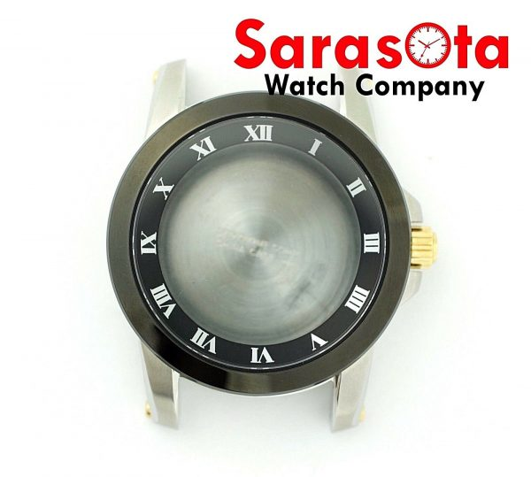 Genuine Seiko 7D56 0AB0 Black Bezel Stainless Steel Case wSapphire Crystal 113536687888 2
