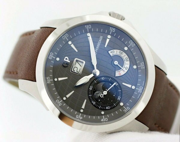 Girard Perregaux 49650 Traveller Large MoonPhases Leather Automatic Mens Watch 114500398238 3