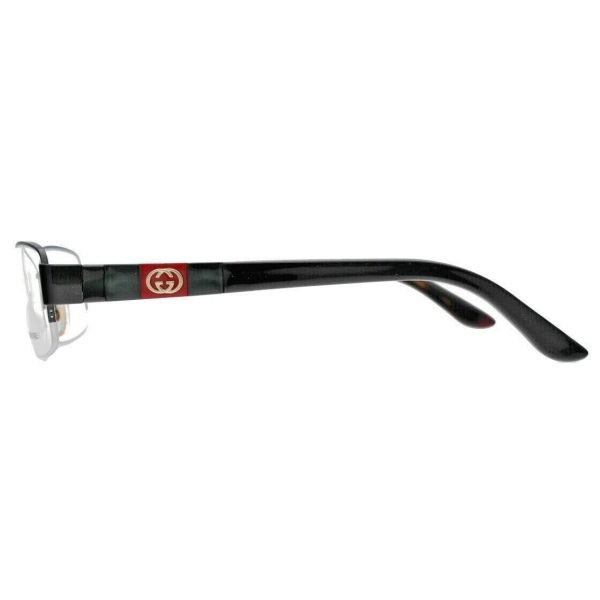 Gucci GG4220 L3F Stainless Steel Black Frame Eyewear Glasses 133538797988 3