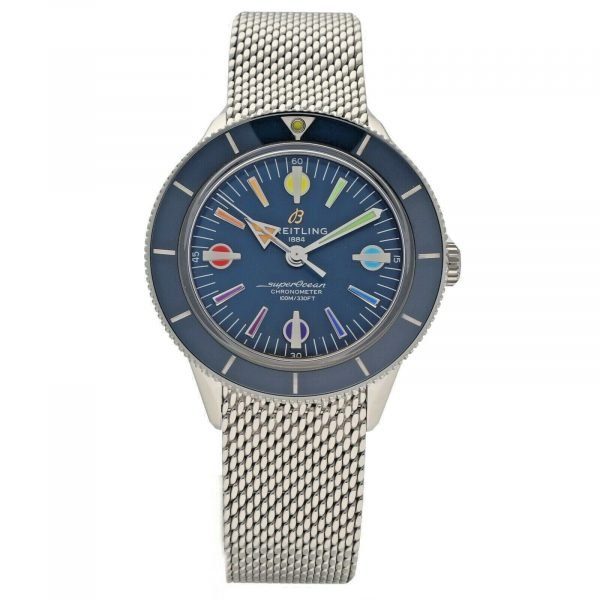 Breitling A10370 Superocean Heritage 57 Limited Edition II Rainbow Mens Watch 114666067769