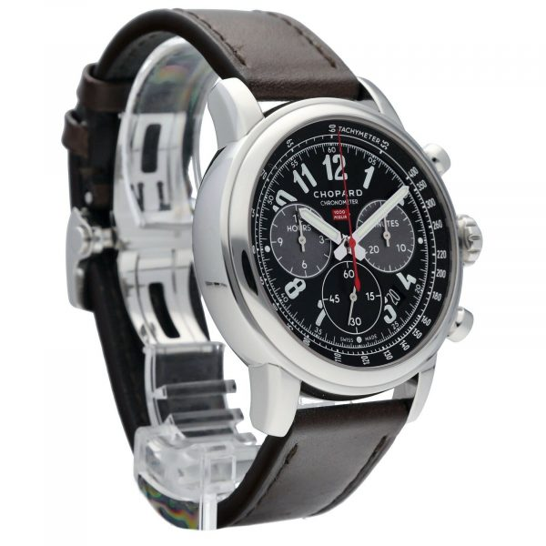 Chopard 168580 3001 1000 Mille Miglia Race Limited Edition 46mm Steel Mens Watch 114526705169 5