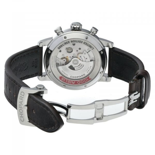 Chopard 168580 3001 1000 Mille Miglia Race Limited Edition 46mm Steel Mens Watch 114526705169 7
