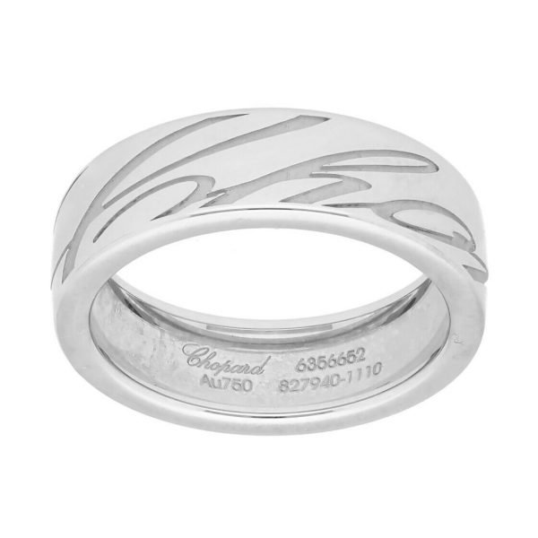 Chopard 827940 1110 18k White Gold 750 Chopardissimo Womens Ring Band 53US 6 114353112059 3
