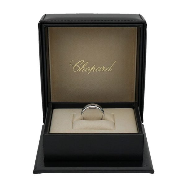 Chopard 827940 1110 18k White Gold 750 Chopardissimo Womens Ring Band 53US 6 114353112059 6
