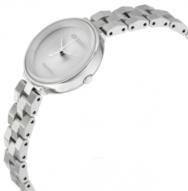 Citizen Eco Drive EW5500 81A Silhouette Stainless Steel 24mm Solar Womens Watch 133570327339 2