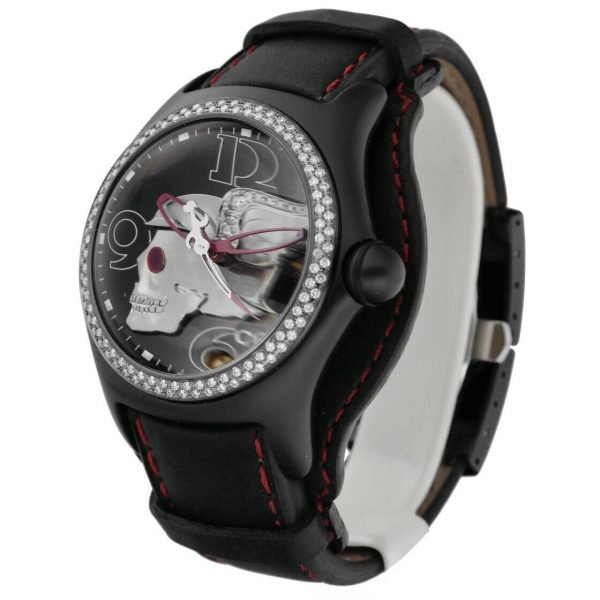 Corum Bubble Night Flyer Z08292230 Limited Edition Black Automatic Mens Watch 114397596319 2