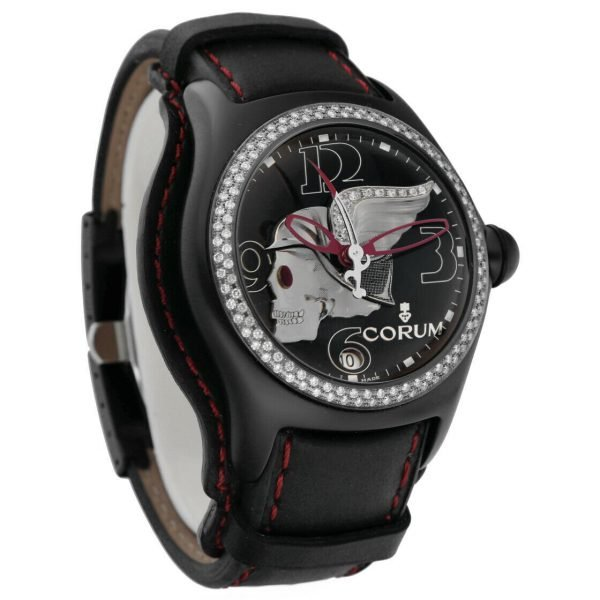 Corum Bubble Night Flyer Z08292230 Limited Edition Black Automatic Mens Watch 114397596319 5