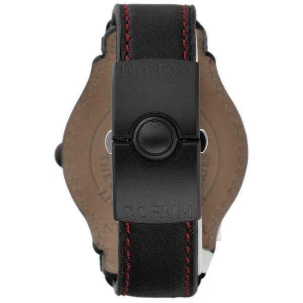 Corum Bubble Night Flyer Z08292230 Limited Edition Black Automatic Mens Watch 114397596319 6