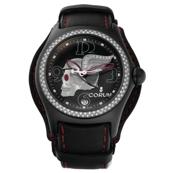 Corum Bubble Night Flyer Z08292230 Limited Edition Black Automatic Mens Watch 114397596319
