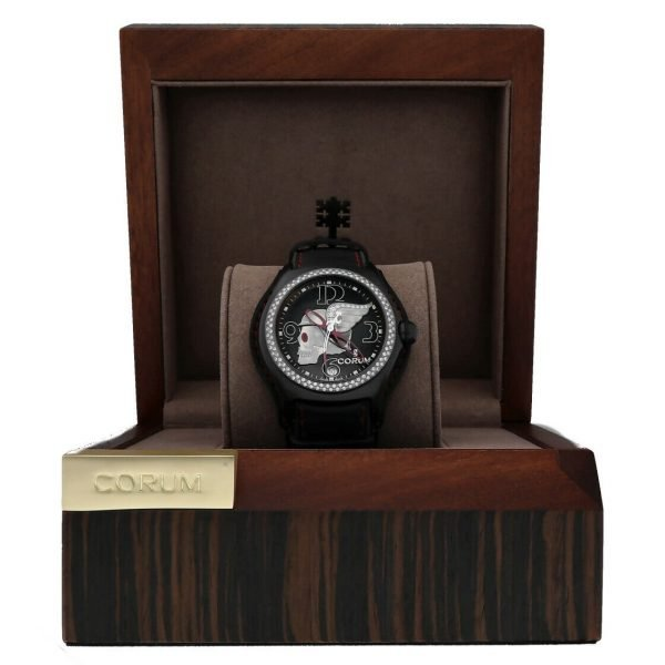 Corum Bubble Night Flyer Z08292230 Limited Edition Black Automatic Mens Watch 114397596319 8