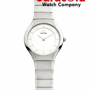 Danish Design IV62Q943 White Dial Titanium Quartz Classic Sapphire Womens Watch 112213442049