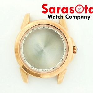 Genuine Seiko Case 7D46 0AM0 Rose Gold Stainless Steel Case wSapphire Crystal 123585240629